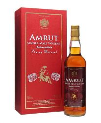 Amrut Intermediate Sherry Indischer Whisky 0,7 Liter