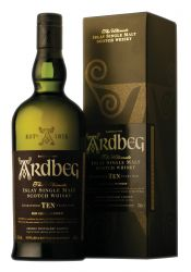 Ardbeg TEN 10 Jahre Islay Single Malt Whisky 1,0 Liter