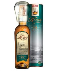 Arran 14 Jahre Single Malt Whisky mit Glas 0,7 Liter