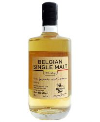Belgian Owl Single Malt first fill bourbon cask 0,5 Liter