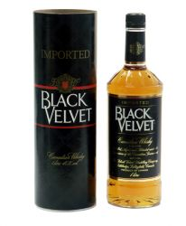 Black Velvet Canadian Whiskey 1,0 ltr.