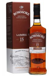 Bowmore 15 Jahre LAIMRIG CASK STRENGTH 54,1% 0,7 Liter