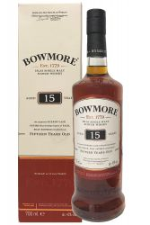 Bowmore 15 Jahre Sherry Cask Finish 0,7 Liter