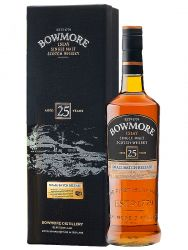 Bowmore 25 Jahre Islay Single Malt Whisky 0,7 Liter