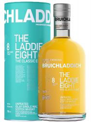 Bruichladdich 8 Jahre Laddie EIGHT Islay Single Malt Whisky 0,7 Liter