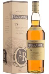Cragganmore 12 Jahre Single Malt Whisky 0,7 Liter