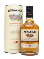 Edradour 10 Jahre Single Malt Whisky ohne Tube 0,7 Liter