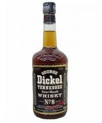 George Dickel No. 8 Black Label Tennessee Whiskey 1,0 Liter