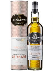 Glengoyne 15 Jahre Highland Single Malt Whisky 0,7 Liter