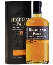 Highland Park 12 Jahre - Single Malt Whisky 1,0 Liter