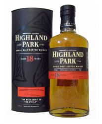 Highland Park 18 Jahre Single Malt Whisky 0,7 Liter
