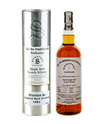 Highland Park 1991 20 Jahre The Un-Chillfiltered Collection Signatory