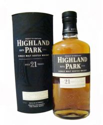 Highland Park 21 Jahre Single Malt Whisky