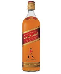 Johnnie Walker Red Label Blended Scotch Whisky 1,0 Liter