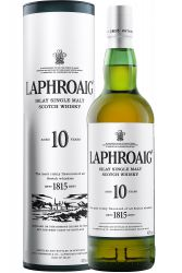 Laphroaig 10 Jahre Islay Single Malt Whisky 1,0 Liter