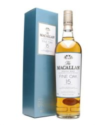 Macallan 15 Jahre Fine Oak Single Malt Whisky 0,7 Liter