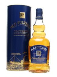 Old Pulteney 17 Jahre Single Malt Whisky 0,7 Liter
