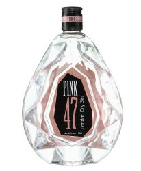 Pink 47 London Dry Gin Diamantenflasche