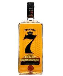 Seagrams 7 Dark Honey 1,0 Liter