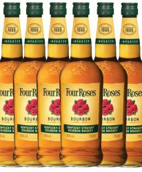 Four Roses Straight Bourbon 6 x 0,7 Liter