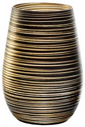Stölzle Twister Gold Becher / Cocktailglas 1 Stück in gold - 3525112
