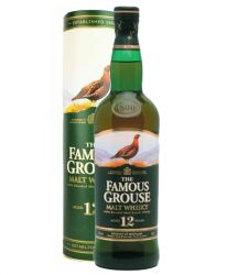 The Famous Grouse 12 Jahre 100 % Blended Malt Whisky 0,7 Liter