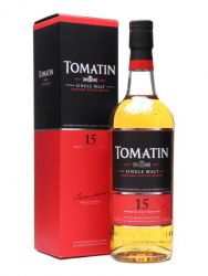 Tomatin 15 Jahre Single Malt Whisky 0,7 Liter