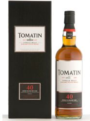 Tomatin 40 Jahre Limited Release 0,7 Liter
