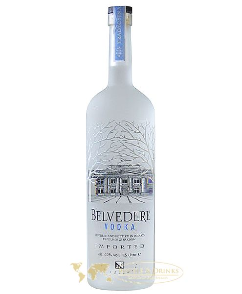 belvedere vodka 1 5 liter aus polen. Black Bedroom Furniture Sets. Home Design Ideas