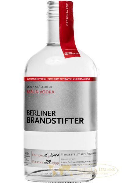 berliner brandstifter vodka deutschland 0 35 liter. Black Bedroom Furniture Sets. Home Design Ideas