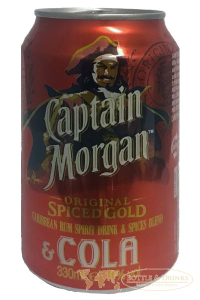 Captain Morgan Cola Dose