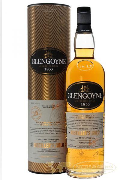 Glengoyne 15 Jahre DISTILLERS GOLD Malt Whisky 1,0 Liter