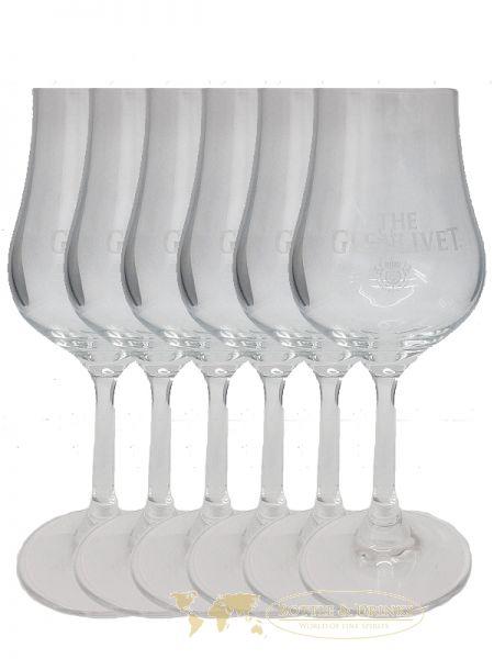 glenlivet nosing gl ser mit eichstrich 2 und 4 cl 1 x 6er set bottle drinks whisky rum. Black Bedroom Furniture Sets. Home Design Ideas