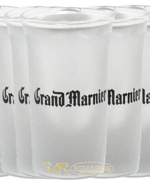 grand marnier glas mit eichstrich 2 cl und 4 cl bottle drinks whisky rum spirituosen. Black Bedroom Furniture Sets. Home Design Ideas
