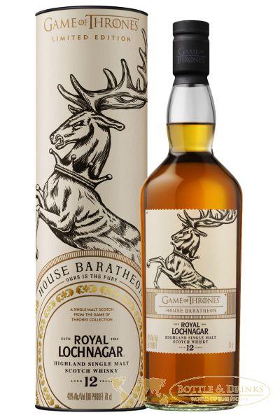 Royal Lochnagar 12 Jahre Game Of Thrones House Baratheon Single Malt