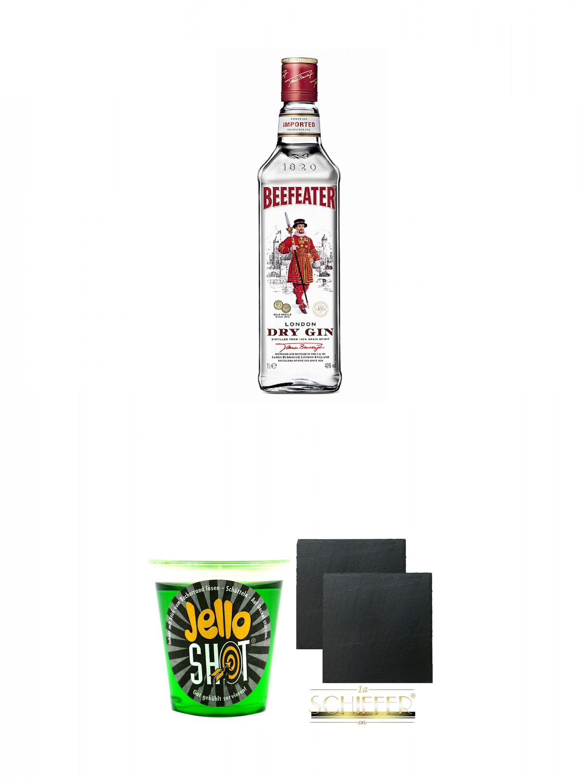 Beefeater London Dry Gin 10 Liter Jello Shot Waldmeister