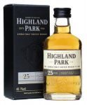 Highland Park 25 Jahre Single Malt Whisky Miniatur 5 cl