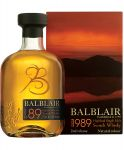 Balblair Vintage 1989 Single Malt Whisky 0,7 Liter