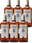 Ballantines Deluxe blended Scotch Whisky 6 x 0,7 Liter