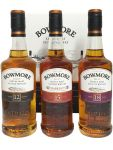 Bowmore Classic Collection 3 x 0,2 Liter in Geschenkpackung