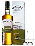 Bowmore Small Batch Single Malt Whisky 0,7 Liter + 2 Glencairn Gläser