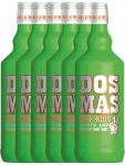 Dos Mas KISS SHOT Minze mit Vodka 6 x 0,7 Liter