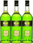 Giffard Green Apple Sirup 3 x 1,0 Liter