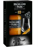 Highland Park 12 Jahre plus Nosingglas Single Malt Whisky 0,7 Liter