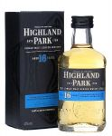 Highland Park 16 Jahre Single Malt Whisky Miniatur 5 cl