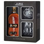 Isle of Jura 10 Jahre mit Glas Single Malt Whisky 0,7 Liter