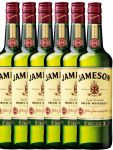 Jameson Irish Whiskey 6 x 0,7 Liter
