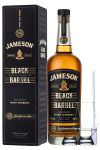 Jameson Select Reserve Black Barrel Small Batch 0,7 Liter + 2 Glencairn Gläser + Einwegpipette 1 Stück