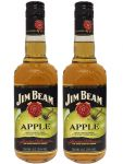 Jim Beam APPLE Whiskey 2 x 0,7 Liter