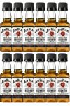 Jim Beam Bourbon Whiskey Miniatur 12 x 5 cl